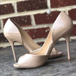 CL by Chinese Laundry 4 1/2 inch nude heels